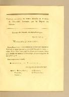 Copies exactes des lettres adressées au Président de l'Assemblée nationale, par les Députés des colonies.