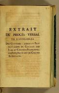 Extrait de procès-verbal de l'Assemblée : des citroyens-libres et propriétaires de couleur des isles et colonies françoises, constituée sous le title de Colons Américains