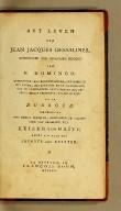 Het leven van Jean Jacques Dessalines, : opperhoofd der opgestane Negers van St. Domingo. Behelzende vele bijzonderheden, betrekkelijk het leven, het karakter en de wreedheden van de voornaamste bevelhebbers der Negers, sedert derzelver opstand in 1791. Door Dubroca. Vermeerderd met eenige berigten, aangaande de verheffing van Dessalines tot Keizer van Haïti, onder den naam van Jacobus den Eersten