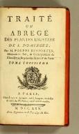 Histoire des Maladies de S. Domingue,