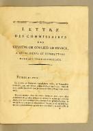 Lettre des commissaires des citoyens de couleur en France, a leurs frères et commettans dans les Isles françoises