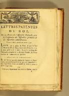 Lettres patentes du Roi, sur un décret de l'Assemblée nationale, pour la constitution des assembl��es primaires & des assemblées administratives. : Données à Paris, au mois de janvier 1790