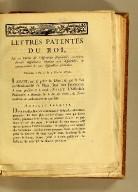 Lettres patentes du Roi, sur un décret de l'Assemblée nationale, contenant diverses dispositions relatives aux assemblées de communautés & aux assemblées primaires. : Données à Paris le 3 février 1790