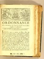Ordonnance pour l'abréviation des formes de procéder dans les sénéchaussées & amirautés. : Extrait des Registres du Conseil supérieur de Saint-Domingue