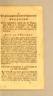 Relation d'une conspiration tramée par les Negres, : dans l'Isle de S. Domingue; défense que fait le Jésuite Confesseur, aux negres qu'on suplicie, de révéler leur fauteurs & complices