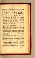 Réflexions : adressées aux Haytiens de partie de l'Ouest et du Sud, sur l'horrible assassinat du Général Delvare, commis au Port-au-Prince, dans la nuit du 25 decembre 1815, par les ordres de Pétion