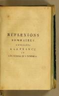 Réflexions sommaires adressées à la France et à la colonie de S. Domingue