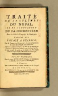 Traité de la culture du nopal, et de l'éducation de la cochenille dans les colonies françaises de l'Amérique; précédé d'un Voyage a Guaxaca,