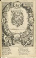 Tytel-Print der Actie-Kraam of Voor-hof van Quinquenpoix.
