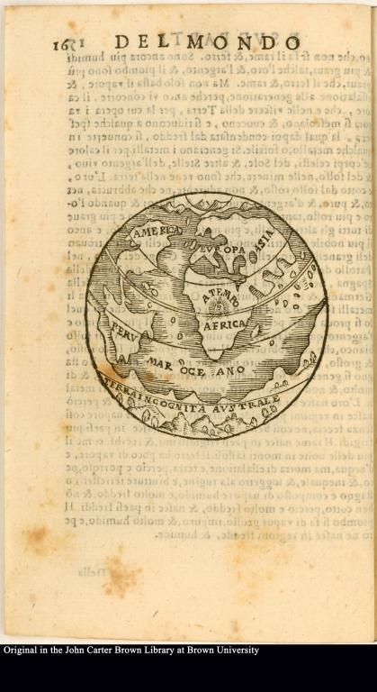[Globe of the world]
