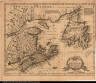 A New & Correct Map of the Isles of New Found Land, Cape Breton &c: with the Provinces of Nova Scotia.