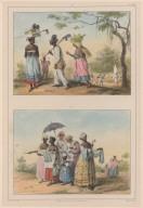 39. Esclaves se rendant au travail. 40. Esclaves allant au Dou.
