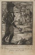 Cristobal comand. del Exercito recorre la ysla de S[an]to. Domingo incendiando y matando alos in felices colonos de ella
