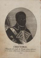 Cristobal Ministro de estado de Hayti Generalisimo de las armas de tierra, y Almirante de Marina. 1806