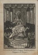 Coronacion de Juan Santiago Desalines primer emperador de Hayti