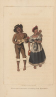 Mexican Indians returning from Market