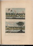 [top] View of the Camp at the Java Creek. [bottom] View of the Encampment at Jerusalem.