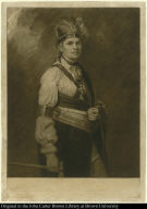 Joseph Tayadaneega called the Brant, the Great Captain of the Six Nations