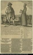 Steyger-Praetjen Tusschen Jan Batavier en Maetroos ober het apprehenderen van den Gouverneur ende Provinciael van gantsch Brazilien, met haer Geselschap.
