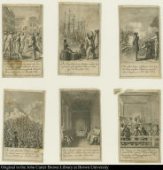 [Six scenes from the American Revolution]