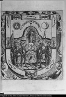 [The Virgin of Patrocinio with the four founders of Zacatecas]