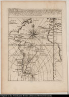 Carte Redvite, pour l'Intelligence du Voyage de la mer du Sud, ou Sont marquez les lieux dont il est parlé dans cette Relation, ...