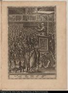 Ad sensus aptat coelestia dona magister, Aridaq eloquij pectora fonte rigat.