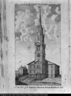 A S.W. View of the Baptist meeting House, Providence, R.I.