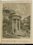 View of a Temple erected by the Blacks to commemorate their Emancipation.