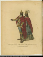 Indian representation of the Costumes of the Ynca and his Queen.
