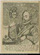 [Sir Francis Drake, with English verse]