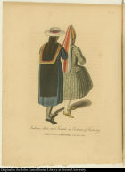 Indians, Male and Female, in Costumes of Festivity.