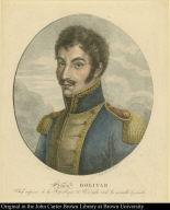 Simon Bolivar. Chef Suprême de la République de Vénézuéla et de la nouvelle Granade