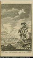 Capt. Hen Morgan before Panama w[hic]h. he took from the Spaniards.