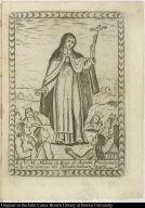 La Ve. Me. Maria de Iesus de Agreda. Predicando a los Chichimecos del Nuebo-mexico