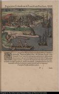 Pugnainter Columbum & Franciscum Poresium.