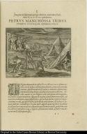 Petrus Manchossa tribus furibus justiciam administrat.