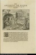 Adventus ad regem scheruorum, et quid ibi acciderit.