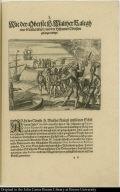 Wie der Oberste H. Walther Ralegh eine Statt eröbert und der hispanier Obersten gefangen nimpt.
