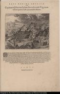 Capitaneus Johannes Schmidius in secunda Virginiam versus navigatione à Gallis captus, mirabiliter liberatur.
