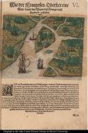 Wie der Franzosen Oberster eine Seul daran das Wapen dess Königes auss Franckreich aussrichten lassen.
