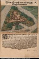 Wie die Franzosen ein gelegen Ort eine Festung zu bauwen erwehlet.