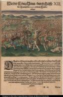 Wie der König Vtina durch Hülffe der Franzosen Patanou seinem Feinde obsieget.