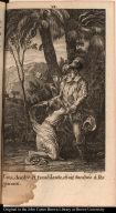 Cora, desolée et tremblante, étoit tombée à ses genoux.