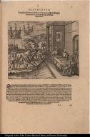 Franciscus Pizarrus, Didocus Almagrus, und ein Priester Ferdinandus Luques machen eine Verbündnuss zusammen.