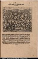 Atabaliba König in Peru wirdt von dem Francisco Pizarro gefangen.