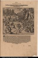 Die Spanier treiben allerhand Unzucht mit den Indianischen Weibern die sie in dem läger unnd Wasserbädern ergriffen nach dem Atabaliba gefangen worden.