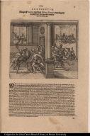 Margraff Pizarrus wird von Didoco Almagro dem jüngern mit hülff seiner Bundgenossen in seinem eigen Hauss erschlagen.