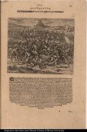 Die Schlacht zwischen Vaca de Castro, und Almagro dem jüngern.