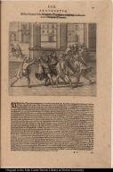 Blascus Nunnez Vela Königlicher Statthalter ersticht den Guillanum Xuarez Königlichen Procurator.